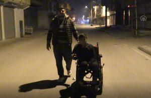 Tekerlekli sandalyesi çalınan 18 yaşındaki Murat: Benim yaşama sebebimi 100 liraya satmışlar