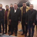 Beşiktaş locasını basan MHP'li vekil, Alaattin Çakıcı'yı karşılamaya