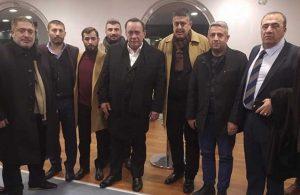 Beşiktaş locasını basan MHP'li vekilden Alaattin Çakıcı'ya karşılamaya