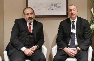 Aliyev ile Paşinyan Dağlık Karabağ çatışmalarının ardından ilk kez bir arada
