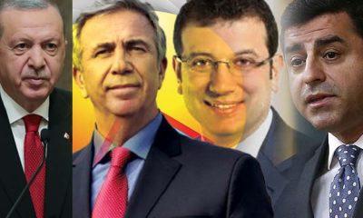 Optimar'ın anketinden çarpıcı sonuçlar: İşte Erdoğan'ı en çok zorlayan adaylar
