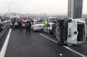İstanbul'da yola çıkacaklar dikkat! Büyük kaza var