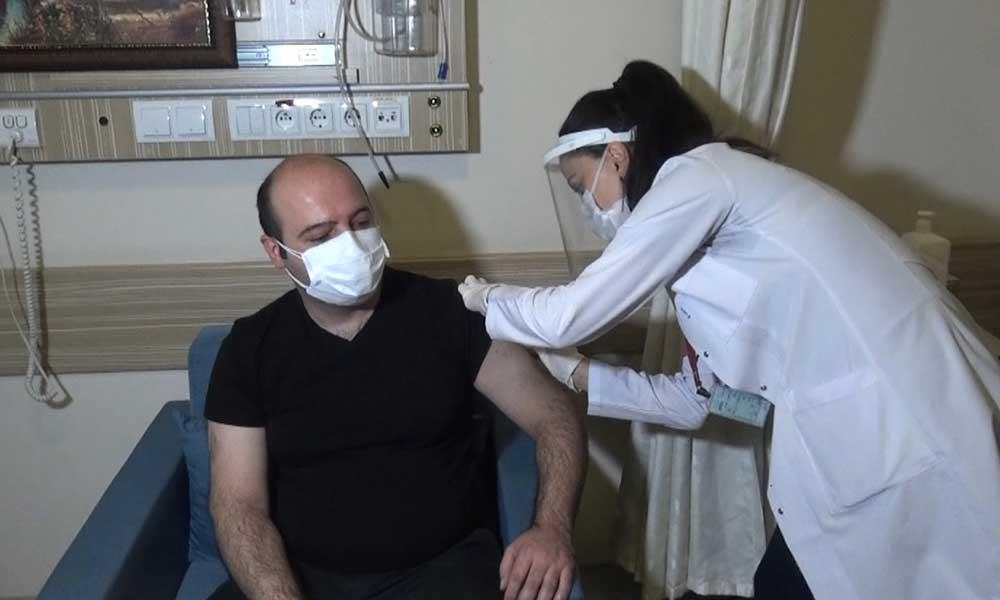 'Koronavirüs aşıları 08.00'den 00.00'a kadar yapılacak'
