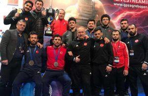 Milli güreşçilerinden büyük başarı: 8 madalya