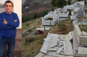 Yaptığı haberler nedeniyle annesinin mezarı parçalandı