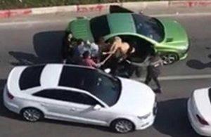 Trafikte kadınları döven şahsa hapis cezası