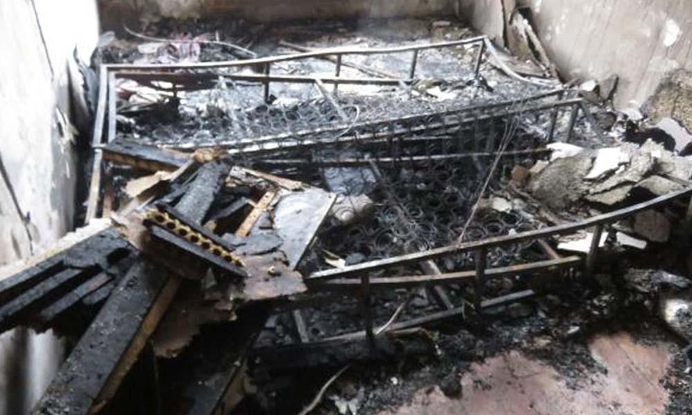 Eski sevgilisini bağlayıp evi ateşe verdiği iddia edilen erkek, serbest bırakıldı
