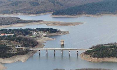 İstanbul barajlarındaki doluluk oranı yüzde 33'ü aştı!