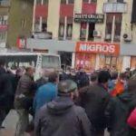 Otobüs ve minibüs şoförleri arasında kavga çıktı: 2 yaralı, 11 gözaltı