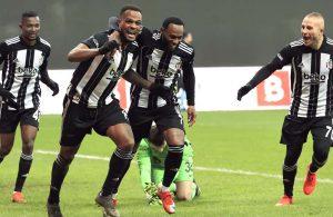 Yılın ilk derbisi Beşiktaş'ın: 2-0