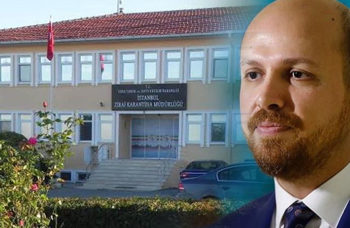Zirai karantina binası Bilal Erdoğan'ın vakfına verildi!