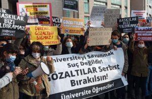 Öğrencilerden Erdoğan'a 'terörist' yanıtı