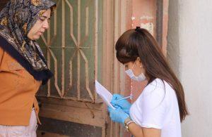 Buca Belediyesi'nden engelli mültecilere pandemi desteği