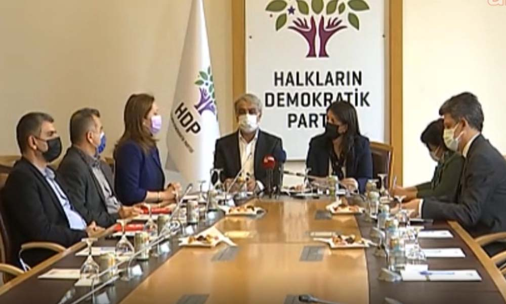 DİSK heyetinden HDP'ye ziyaret