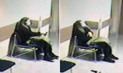 Sevgilisinin öldüğünü öğrenen kadın hastanede canına kıydı, görüntüler kameraya yansıdı.