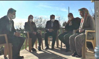 Başkan Genç, Melek İpek'in kızları ve ailesini ziyaret etti