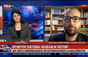 IstanPol Araştırma'dan Siyaset Bilimci Edgar Şar: Türkiye'nin yeni modeli tepkiselliğe dayanmamalı : Türkiye'nin yeni modeli tepkiselliğe dayanmamalı – TELE1 ANA HABER