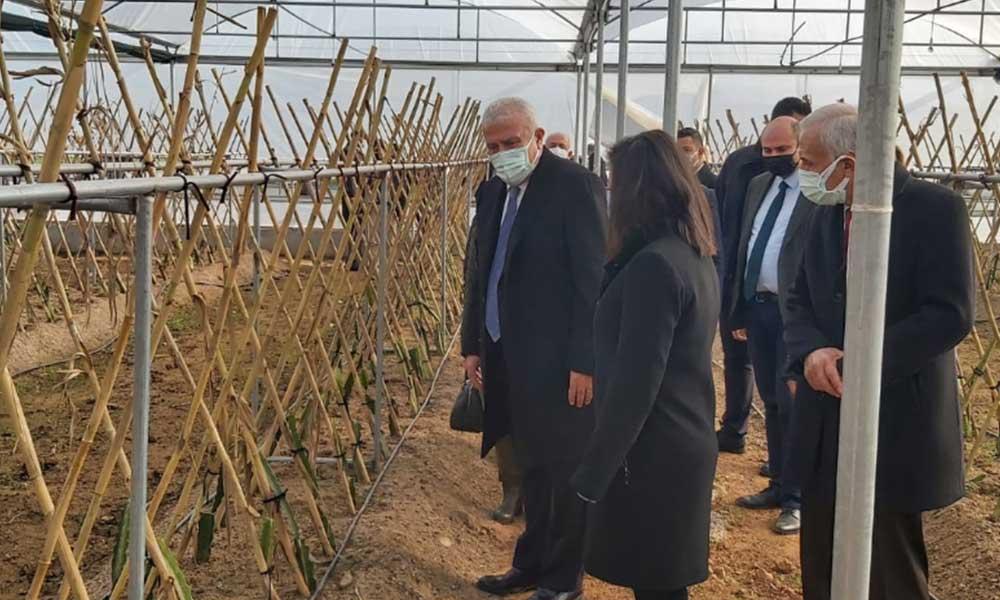 Başkan Atay'dan Efeler tarımına yeni soluk