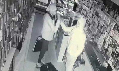 130 bin liralık soygun yapıp, güvenlik kamerasına karşı birbirlerini tebrik ettiler