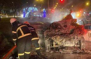 Eski milletvekilinin oğlu zincirleme kazada yanarak hayatını kaybetti