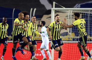 Haftanın kapanış maçında gülen taraf Fenerbahçe