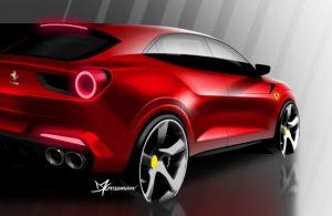 Karşınızda TOGG'un rakibi Ferrari F244 SUV