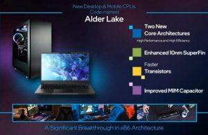 Intel 12'nci jenerasyon işlemcilerini tanıttı