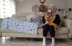 Tedavisi için 21 milyon TL toplanan Hamza bebek törenle ABD'ye uğurlandı