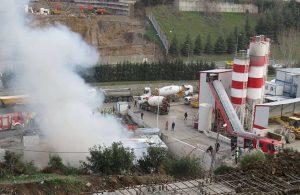 İşçilerin kaldığı konteynerde yangın!