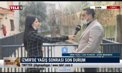İzmir'de yağış sonrası son durum ne? – GÜN ORTASI