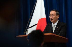 Japonya Başbakanı Yoşihide: Olimpiyat Oyunları'nı yapmaya kararlıyız