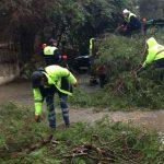 Fırtınadan kaynaklı olumsuzluklara belediye ekiplerinden anında müdahale