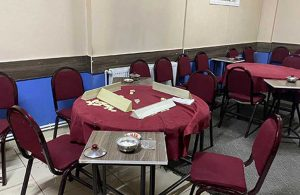 Kahvehaneye çevrilen daireye baskın:33 kişiye ceza kesildi