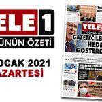 Gazetecileri hedef gösterdi. Tecavüzcüye davullu karşılama. Erdoğan 'gizli sanık' yapılmış. Utanmaz savunma. İstanbul için hayati proje. AKP'nin İBB Sikorskysi. 18 Ocak 2021 Günün Özeti