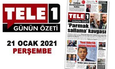 """'Parmak sallama' kavgası. Çatlağı derinleştirecek haber. """"İktidar yolcu demektir"""". Tek seferde 17 kararname. AKP'nin Kılıçdaroğlu planı. 21 Ocak 2021 Günün Özeti"""