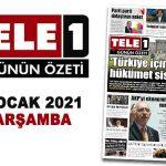 """""""Türkiye için yeni hükümet sistemi"""". 'TELE1' örnekli yanıt. """"Erdoğan'ı esir almış"""". Parti parti dolaştıran anket. İlk istifa belli oldu.  Kar, fırtına, yağmur… 27 Ocak 2021 Günün Özeti"""