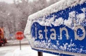 Meteoroloji'den 23 ile turuncu uyarı! İstanbul'a kar sürprizi