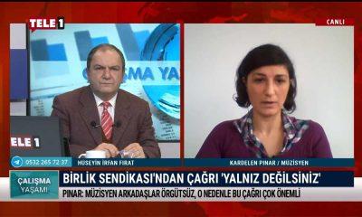 Çalışma Yaşamı'nın bu haftaki konuğu Müzisyen Kardelen Pınar