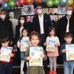 Kartal Belediyesi kreşlerinde karne heyecanı