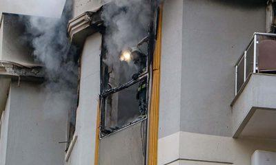 Kiracı 'Allah belanızı versin' yazılı not bırakıp evini yaktı