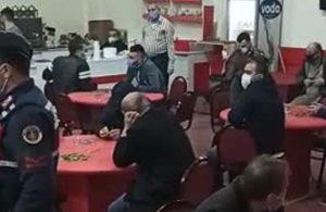 Kumar oynarken yakalanan 75 kişiye 635 bin 850 lira para cezası