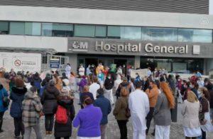 Madrid'de sağlık emekçilerinden özelleştirme protestosu