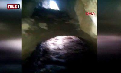 Malatya'da yürüyüşe çıkan yurttaşlar görüntüledi: Mağaradaki 'esrarengiz varlık' korkuttu
