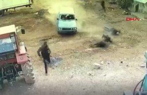 Mardin'de 'arazi' kavgası: Araçla ezdiler, pompalı tüfekle saldırdılar