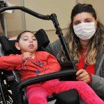 Anne karnında, yüz yirmi beş binde bir görülen hastalığa yakalandı
