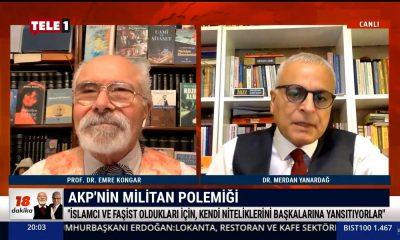 Merdan Yanardağ'dan AKP Sözcüsü'ne sert yanıt: Soldan apardığı kelimelerle…