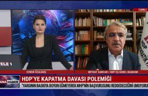 HDP Eş Genel Başkanı Mithat Sancar'dan TELE1'e flaş açıklamalar: En kötü ihtimalde bile…