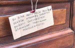 'Bu mühür gençlik eliyle AKP'ye vurulmuştur!'