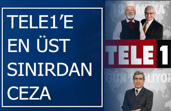 Cezaların arkası kesilmiyor! İktidarın medya maşası RTÜK'ten TELE1'e iki ceza daha