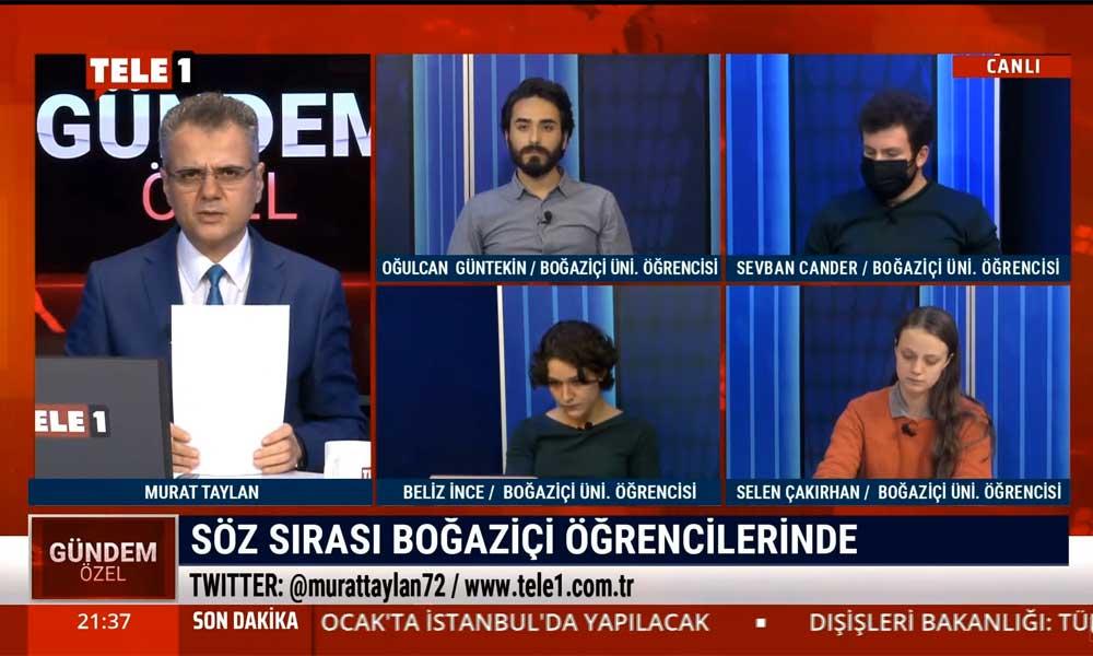 Boğaziçili öğrencilerden Erdoğan'a tepki: Korkuyoruz